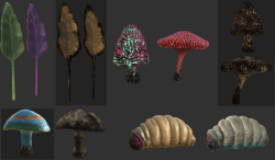 Unusual variants in the ecology, food, and more...